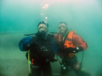 Diving in the UK cooler waters
