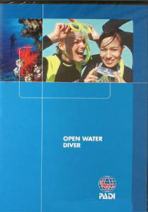 PADI Open Water in Diving Manual