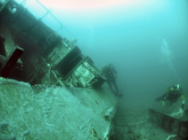 Navigate directly to the wreck to get extra dive time looking at it